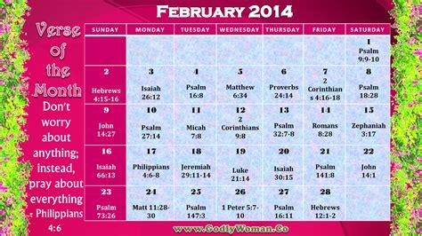 printable version calendar godly woman daily calendar february 2014 printable version