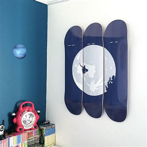 skateboard home design skateboard wall art e t skateboarder by invisible friend