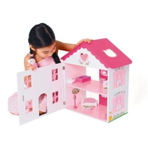 hello kitty wooden dolls house hello kitty wooden dolls house brand new ebay