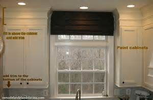 how to finish the top of kitchen cabinets how to add character to plain cabinets