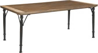 metal amp wood rustic dining table furniture stores chicago