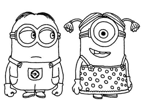 kumpulan gambar animasi the minion atau banana untuk di warnai mewarnai gambar