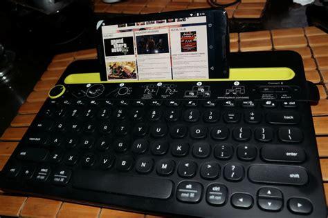 Keyboard Logitech K480 logitech k480 multi device keyboard review g style