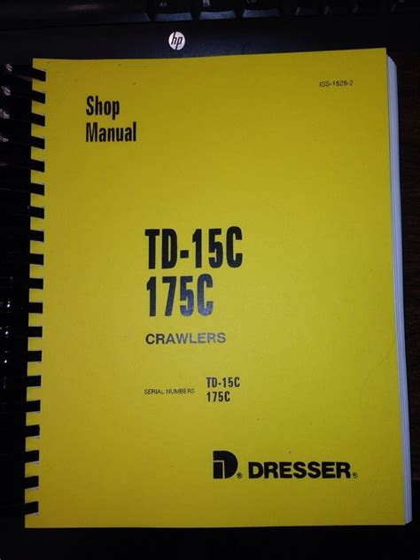 international tdc dozer crawler service shop manual iss   finney equipment  parts