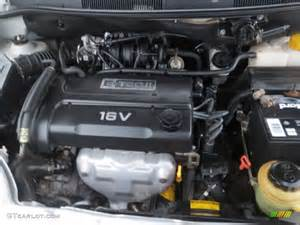 Chevrolet Aveo Engine 2005 Chevrolet Aveo Lt Sedan Engine Photos Gtcarlot
