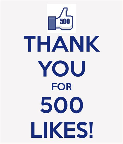 thank you for thank you for 500 likes society of revellers