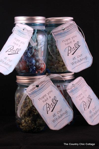 Mason Jar Wedding Giveaways - best 25 mason jar wedding favors ideas on pinterest mason jar favors wedding