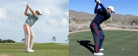 hands at top of golf swing the backswing in golf what you can learn from michael