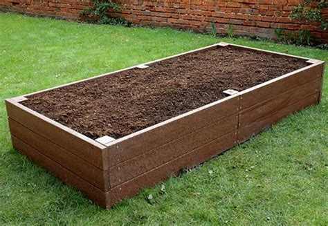 recycled plastic raised garden beds recycled plastic planters and raised beds