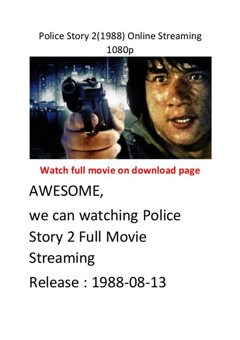 bester action comedy film police story 2 1988 online streaming 1080p hollywood best