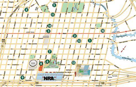 houston city map pdf houston hotels map