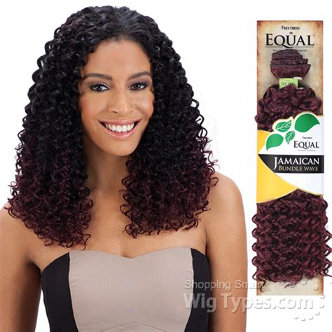 Jamaican Hairstyles Weave | freetress equal synthetic weave jamaican bundle wave