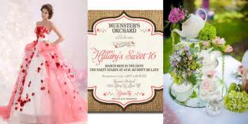 Backyard Quince Ideas Most Popular Quince Themes My Quince