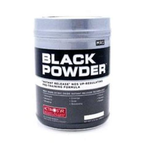 P O Powder M B K black powder by mri pre workout nitric oxide no2