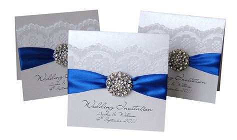 Wedding Invitation Royal Blue by 1000 Images About Wedding Invitation Ideas On