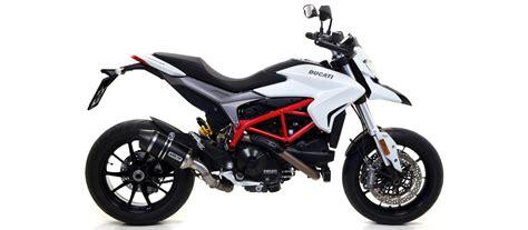 Motorrad Auspuff Euro 4 by Ducati Hypermotard 939 2016 Euro 4 Auspuff Abzweig Arrow