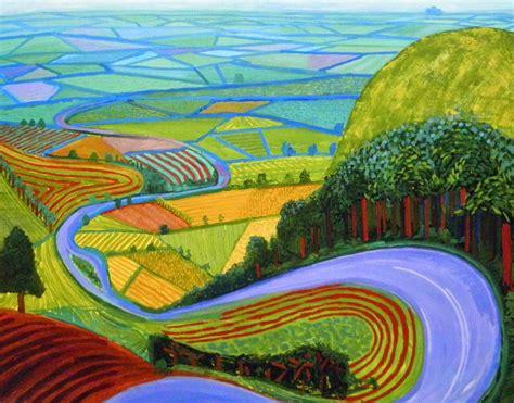 Landscape Artists Work Mini Matisse Hockney Landscapes