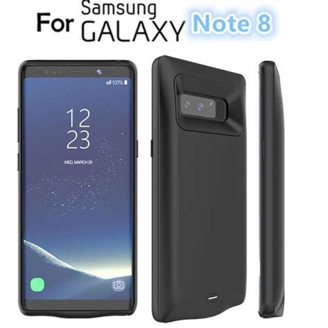 Power Bank Samsung Galaxy Note power bank cover external battery charging silm f