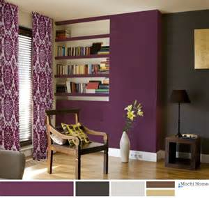 Purple Living Room Wall Color 25 Best Ideas About Purple Living Rooms On