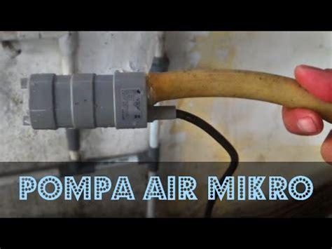 Capasitor Pompa 12 Mikro pompa air mikro 12 v tenaga surya kecil cabe rawit