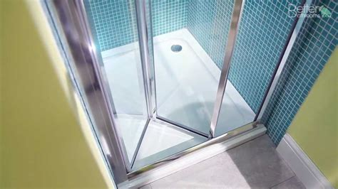 Folding Shower Door Parts Aquafloe 760 Bi Fold Shower Door