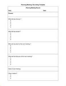Meeting Planner Templates 11 Meeting Planner Template Rejection Letters