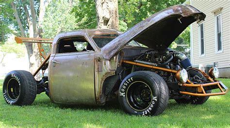 Paket Wheels Up Dodge Chevy modifikasi pikap tua disulap jadi mobil balap