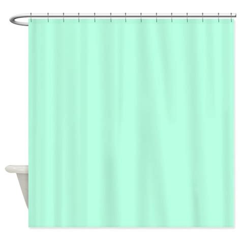 Mint Green Curtains Solid Mint Green Shower Curtain By Theshowercurtain