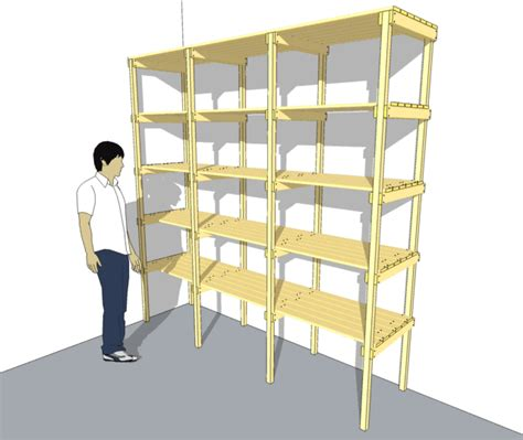 Storage Shelf Plans Free by Garage Storage Shelf Plans Free 187 Plansdownload