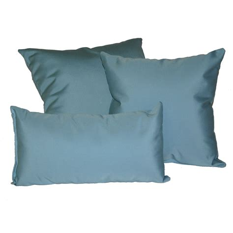 Patio Throw Pillows by Mineral Blue Sunbrella Outdoor Throw Pillow