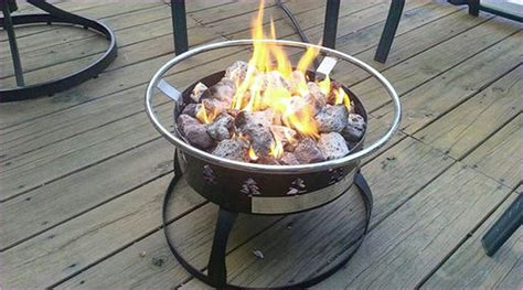 propane pit burner pit design ideas