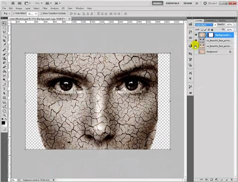 load pattern in photoshop cs5 efecto texturizar rostro photoshop cs5 youtube