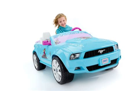 frozen mustang power wheels disney frozen ford mustang 12 volt battery