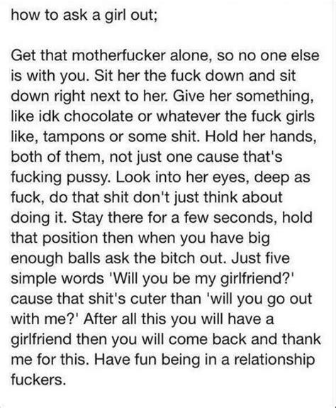 How to ask a girl out on a date that you don't know