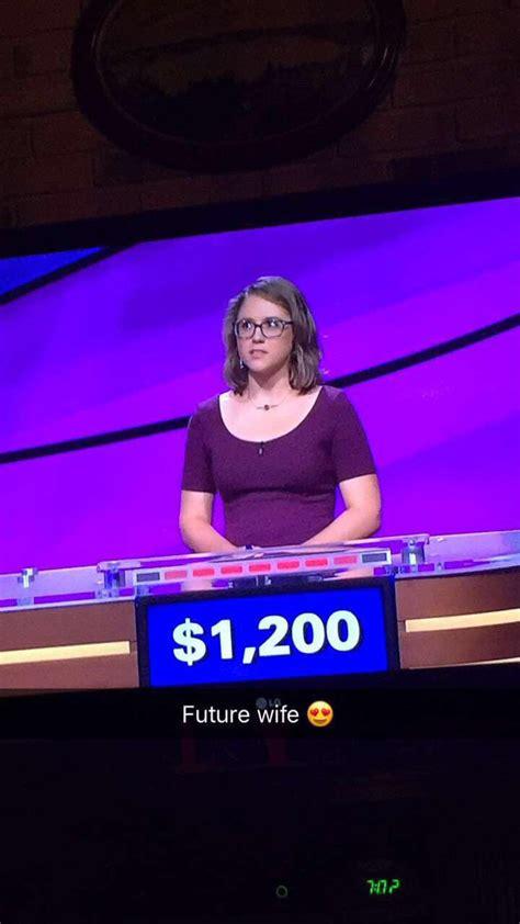 kristin jeopardy is low key losing it this jeopardy winner