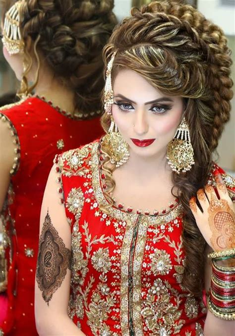new pakistani hair style video latest bridal makeup ideas by kashees food in 5 minutes