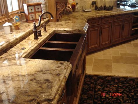 Best Paint Colors For Kitchens With Oak Cabinets by What Color Granite Goes With Medium Oak Cabinets Q