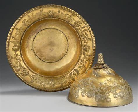 Les Partenaires Ottomans by Bassin Et Couvercle Ottomans En Tombaq D 201 Poque Abdulhamid