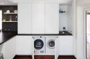 Blue Washer And Dryer 20 Ultra Modern Laundry Rooms That Fit Into The Most