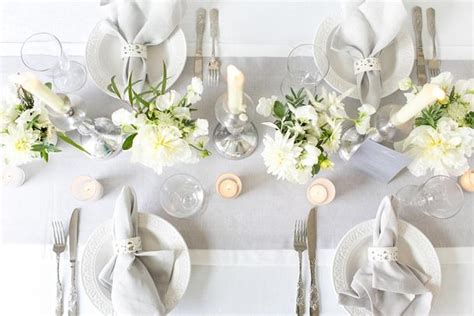 White Table Settings Luxury White Grey Wedding Table Setting Inspiration From B Loved B Loved Weddings Uk
