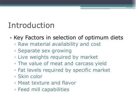10 key factors affecting selection of a building site nutrition management broiler