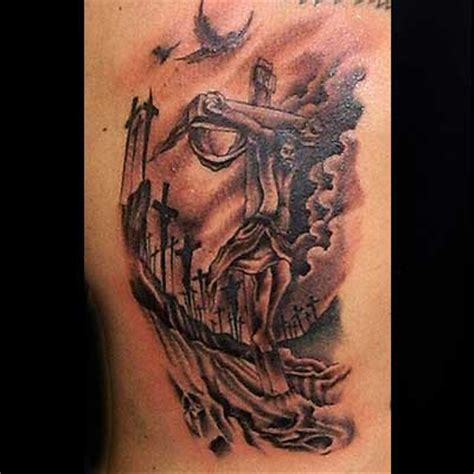 realistic cross tattoos cross tattoos and designs page 19