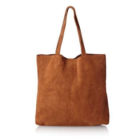 Fashion Bag Shopper izzy suede leather shopper bag oliver bonas