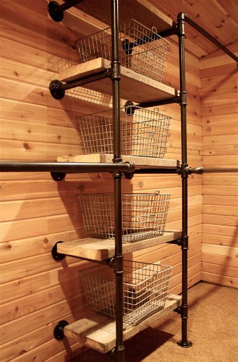 inspirations closet rod holder   great closet