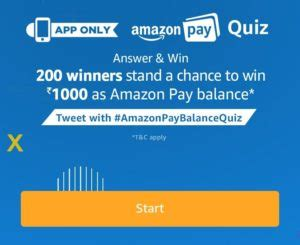 Answer Questions And Win Money Online - 7th dec answers added amazon pay quiz answer 5 simple questions and win rs 1000