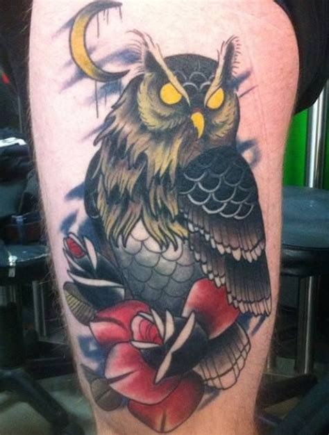 evil owl tattoo 1000 images about tom wookie on