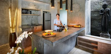 Balinese Kitchen Design Gorgeous Tropical Villas In Bali