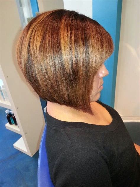 ombre highlights for short bob 17 best images about angled bob hairstyles on pinterest