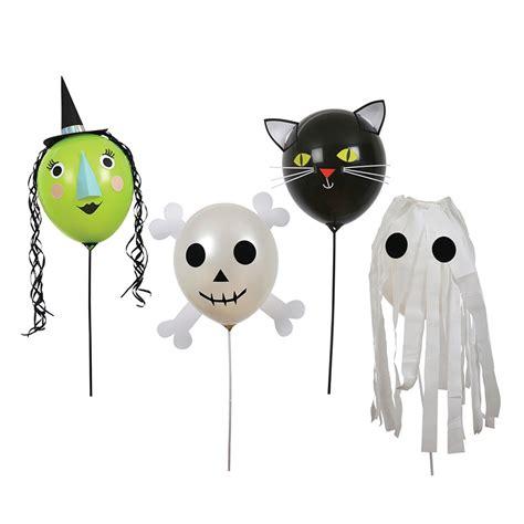 decoraciones de halloween globos halloween con decoraciones 4 meri meri