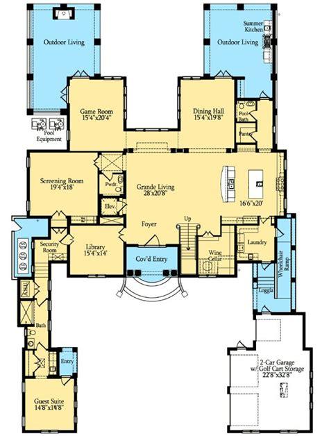 4 Schlafzimmer Home Floor Pläne by Die Besten 17 Ideen Zu Mediterrane Hauspl 228 Ne Auf